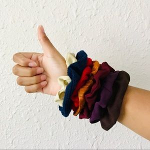 Fall Trend 2019 Warm Tone Chic Vtg Hair Scrunchies